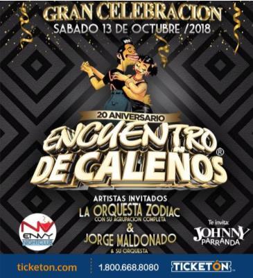 20 ANIVERSARIO ENCUENTRO DE CALENOS: Main Image