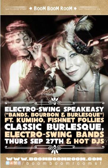 Burlesque Electro Swing Speakeasy (Bands Bourbon Burlesque): Main Image