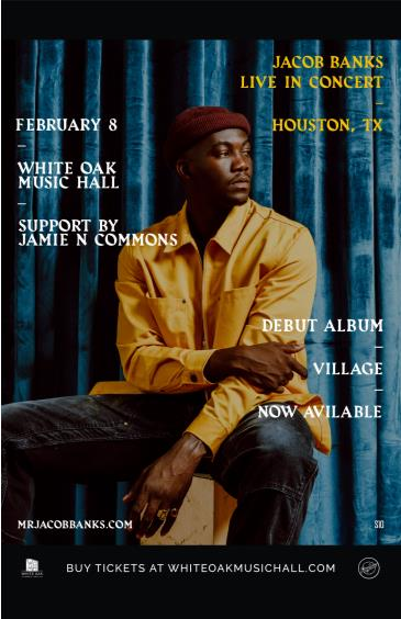Jacob Banks, Jamie N Commons: Main Image
