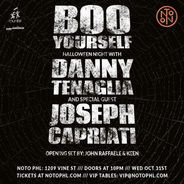 Halloween Night: Danny Tenaglia & Joseph Capriati-img