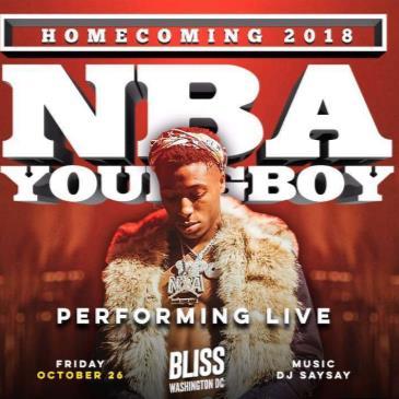 """NBA YOUNG BOY AT BLISS """"HOMECOMING EDITION""""-img"""