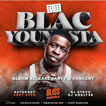 BLAC YOUNGSTA- Album Release Concert AT BLISS: Main Image