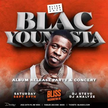 BLAC YOUNGSTA- Album Release Concert AT BLISS-img