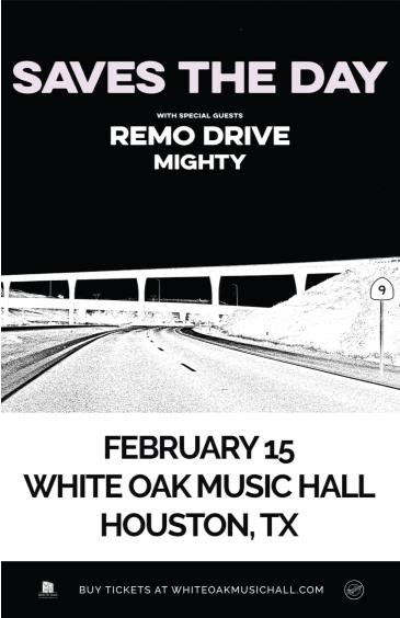 Saves the Day, Remo Drive, Mighty: Main Image