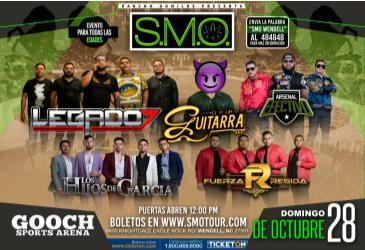 CANCELADO/ SMO TOUR 2018: Main Image