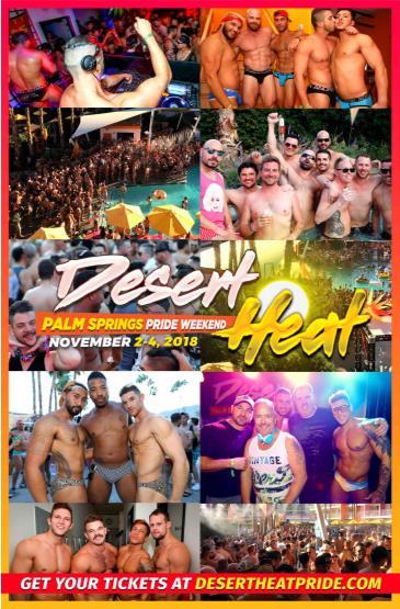 DESERT HEAT - Palm Springs Pride Weekend 2018: Main Image