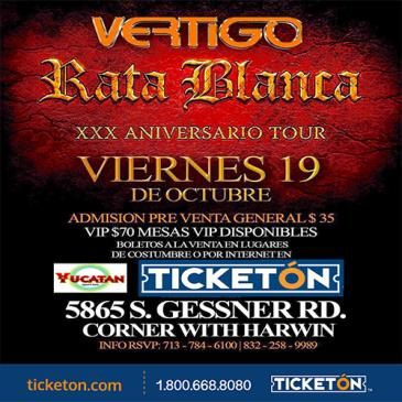 RATA BLANCA HOUSTON: Main Image