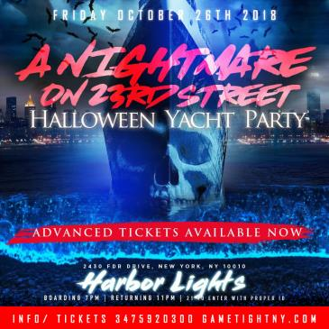 NYC Afterwork Halloween Yacht Party Cruise at Skyport Marina-img