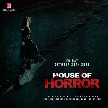 Highbar NYC House of Horror Halloween Party 2018-img