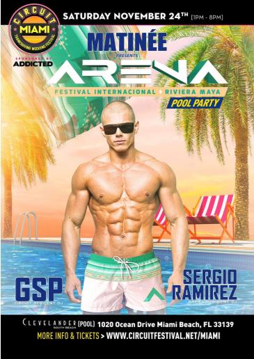 Matinee Presents ARENA Pool Party: Main Image