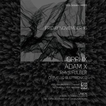 Orphx & Adam X: Main Image