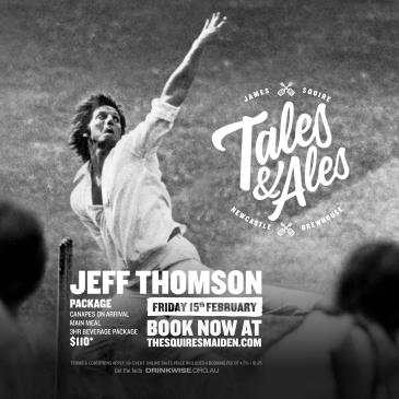 TALES & ALES - JEFF THOMSON: Main Image