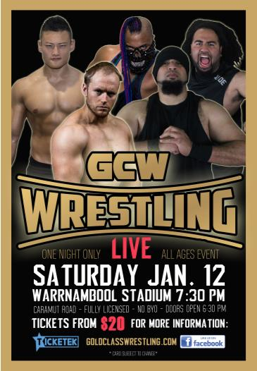 GCW WRESTLING - WARRNAMBOOL: Main Image