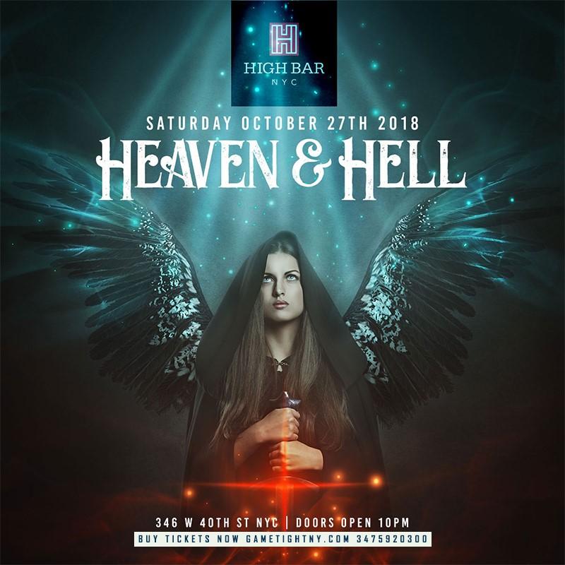 highbar nyc heaven hell halloween party 2018 main image