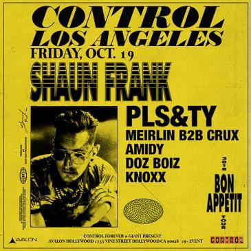 Shaun Frank, PLS&TY: Main Image