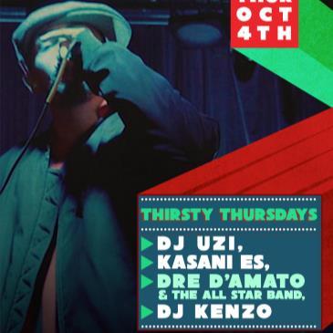 Thirsty Thursdays Dre D'Amato & Allstar Playaz (free b4 9pm)-img