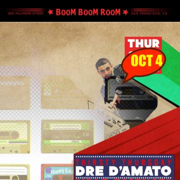 Thirsty Thursdays with Dre D'Amato Allstar Band of Playaz-img