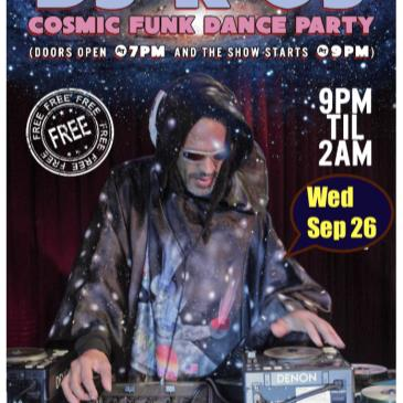 DJ K-OS Cosmic Funk Disco Dance Party  (Free Show)-img