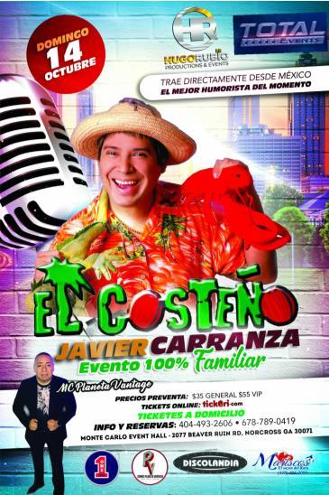 """JAVIER CARRANZA """"EL COSTENO"""": Main Image"""