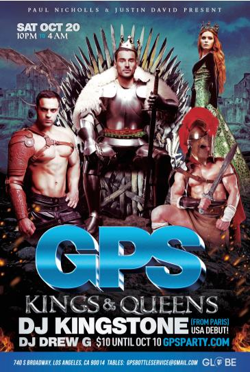 GPS: KINGS & QUEENS: Main Image