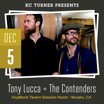 Tony Lucca + The Contenders: Main Image