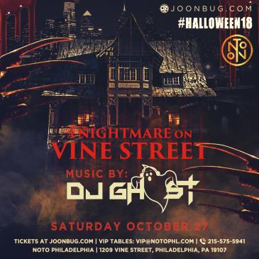 A Nightmare on Vine Street: DJ Ghost: