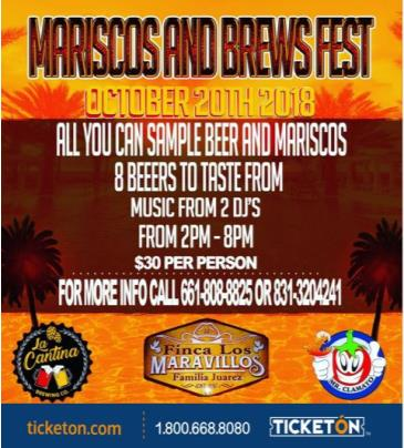 MARISCOS AND BREWS FEST: Main Image