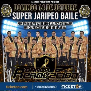 SUPER JARIPEO BAILE-BANDA RENOVACION: Main Image