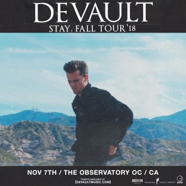 DEVAULT at The Observatory OC - CANCELLED: Main Image
