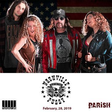 Nashville Pussy w/ Speedealer, Blackeyed Vermillion-img