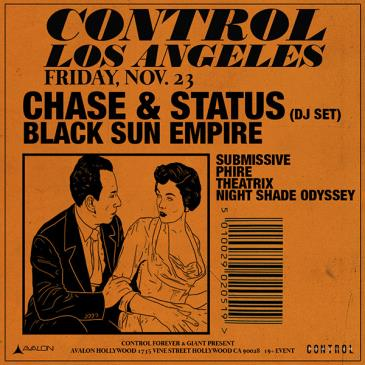 Chase & Status, Black Sun Empire: Main Image