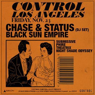 Chase & Status, Black Sun Empire: Main Image