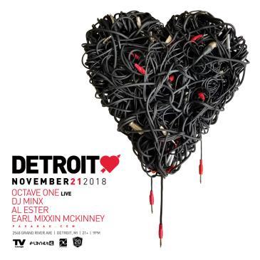 Paxahau Presents: Detroit Love Thanksgiving Eve: Main Image