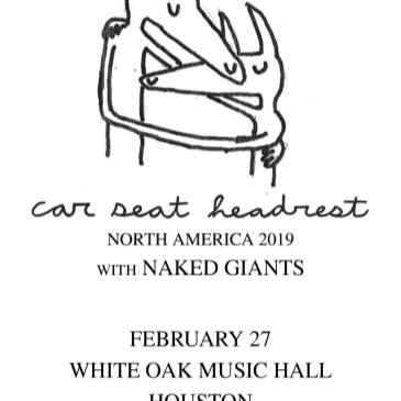 Car Seat Headrest with Naked Giants-img
