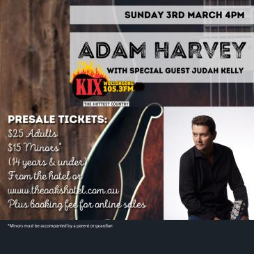Adam Harvey - The Nashville Tapes ft Judah Kelly: Main Image