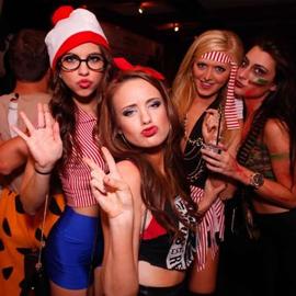 M Social Rooftop Halloween party 2021 | GametightNY.com
