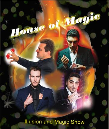 BonkerZ & Las Vegas Entertainment Present House of Magic: Main Image