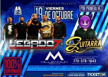 LEGADO 7 & EL DE LA GUITARRA: Main Image