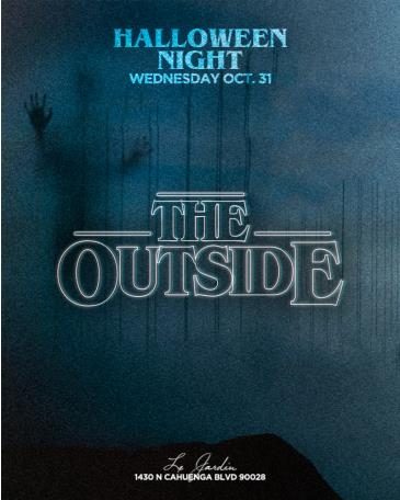"""""""The Outside"""" on Halloween Night: Main Image"""