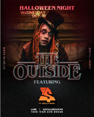 "TY Dolla Sign ""The Outside"" Halloween Costume Party: Main Image"