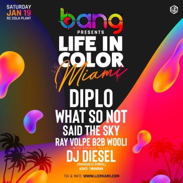 Life in Color Miami 2019: Main Image