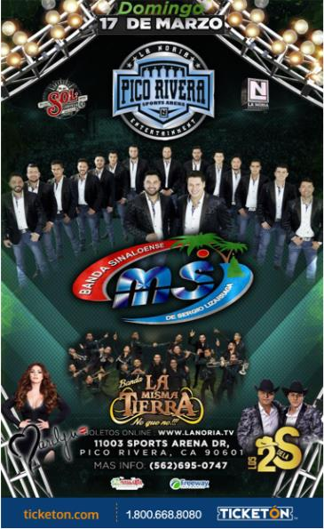 BANDA MS -TOUR 2019: Main Image