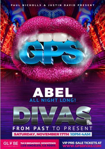 GPS: DIVAS with ABEL!: Main Image