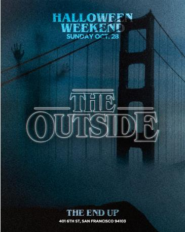 """""""The Outside"""" SF on Halloween Weekend: Main Image"""