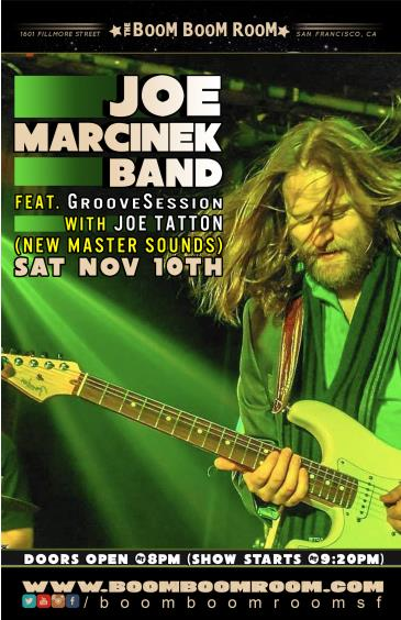 GrooveSession & Joe Marcinek + Joe Tatton (New Mastersounds): Main Image