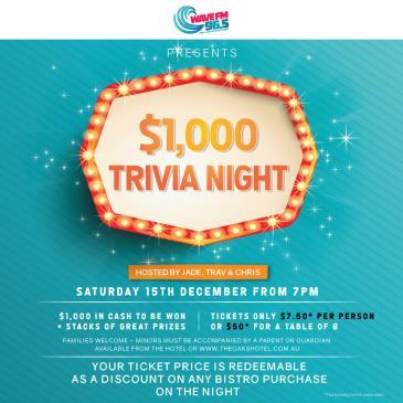 $1,000 Trivia Night: Main Image