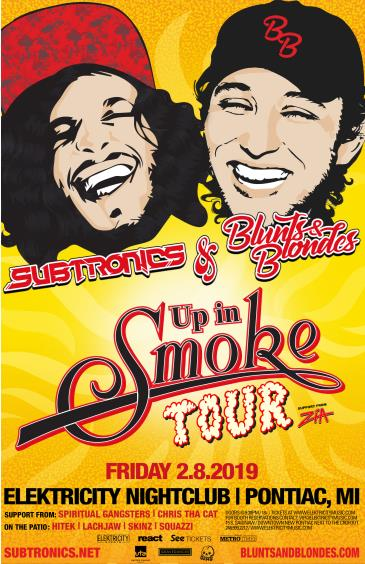 Up In Smoke Tour ft. Subtronics + Blunts & Blondes: Main Image