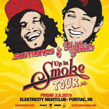 Up In Smoke Tour ft. Subtronics + Blunts & Blondes-img