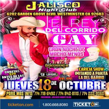 EL REY DEL CORRIDO GAY: Main Image