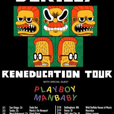 Okilly Dokilly w/ Playboy Manbaby, Bitforce, DJ Shasta Rock-img